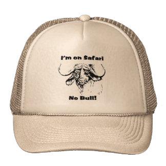 I'm on safari no bull! baseball cap