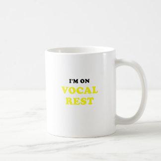 Im on Vocal Rest Coffee Mug