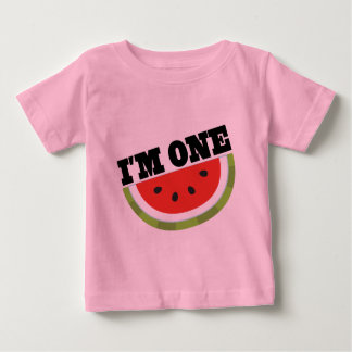 I'm One Birthday Gift Idea Baby T-Shirt