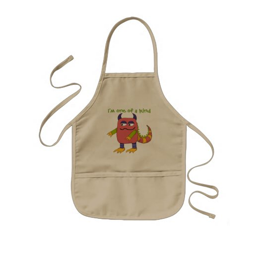 I'm One of a Kind Monster Kids Aprons