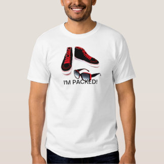 I'M PACKED! MEN' T (SNEAKERS AND SUNGLASSES) TEES