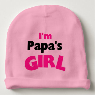 I'm Papa's Girl Baby Beanie