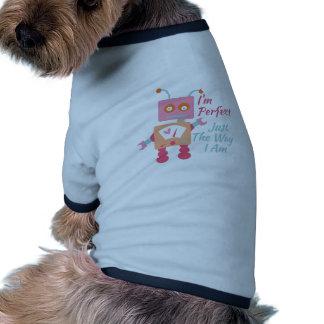 I'm Perfect Ringer Dog Shirt