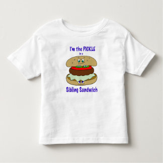 I'm PICKLE 1 in a Sibling Sandwich Toddler T-Shirt