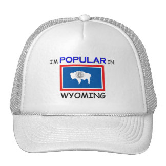 I'm Popular In WYOMING Hats