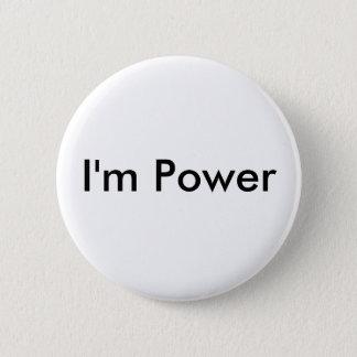 I'm Power 6 Cm Round Badge