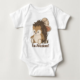 I'm Precious Woodland Hedgehog baby girls bodysuit