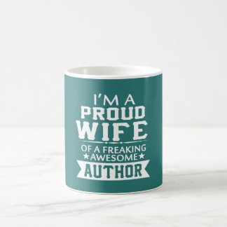 I'M PROUD AUTHOR'S WIFE COFFEE MUG