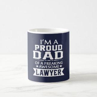I'M PROUD LAWYER'S DAD COFFEE MUG