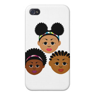 """""""I'm Proud to Be Natural Me"""" Collection iPhone 4 Case"""