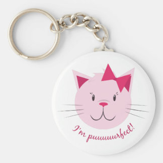 I'm Purfect! Keychain