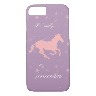 I'm Really a Unicorn iPhone Case