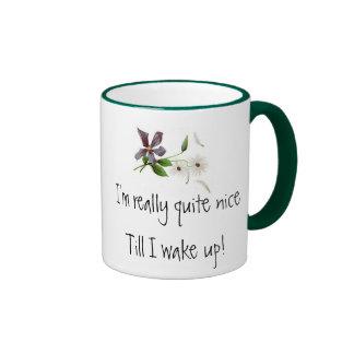 I'm really quite nice ringer coffee mug