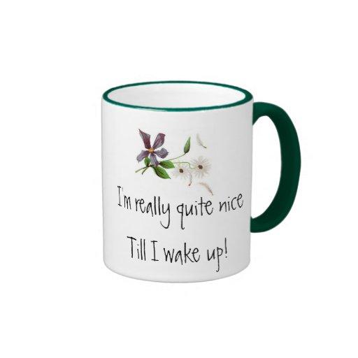 I'm really quite nice mug