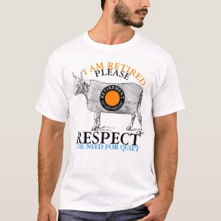 I'm Retired Do Not Disturb Cow Vintage Men Tee