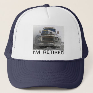 I'm Retired Trucker Hat