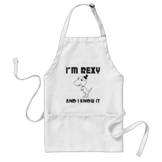 I'm Rexy And I Know It Standard Apron