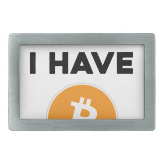 I'm rich - I have Bitcoin Belt Buckles