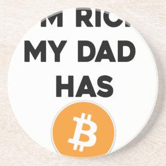 I'm Rich - My Dad has Bitcoin Coaster