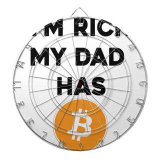 I'm Rich - My Dad has Bitcoin Dartboard
