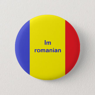 Im Romanian 6 Cm Round Badge