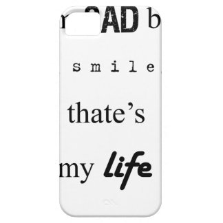 i'm sad but i smile. that's my life2 barely there iPhone 5 case