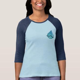 I'm Sad Women's navy Raglan T-shirt