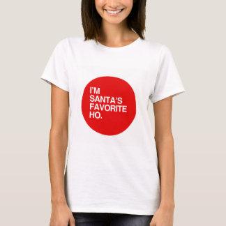 I'M SANTA'S FAVORITE HO T-Shirt