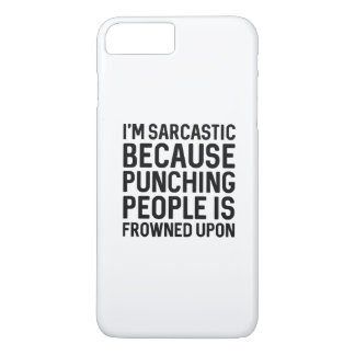 I'm Sarcastic iPhone 7 Plus Case