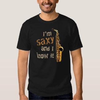 I'm Saxy t-shirt