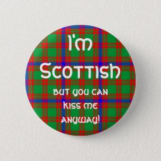 I'm Scottish 6 Cm Round Badge