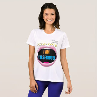 I'm Serious Tennis Women's Competitor T-Shirt