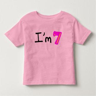 I'm Seven! Tshirt