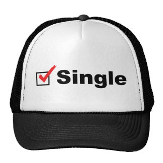 I'm Single And Available Hat