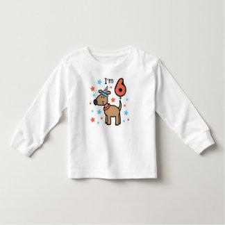 I'm Six Doggie Toddler T-Shirt