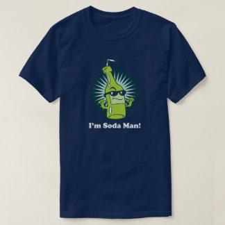 I'm Soda Man! Funny Pun Wordplay T-Shirt