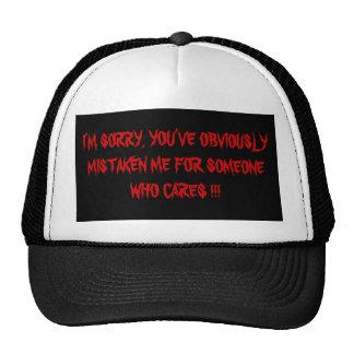 I'M SORRY !!!! CAP