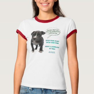 I'm Sorry Puppy Ringer T-Shirt