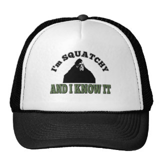 I'm SQUATCHY and I know it! Mesh Hats