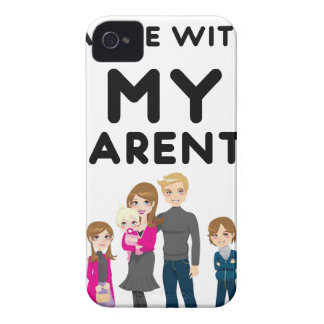 I'm Still Alive With My Parents Case-Mate iPhone 4 Cases
