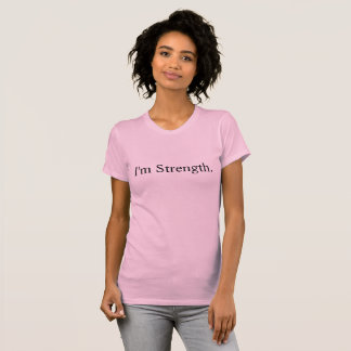 Im Strength Premium T-shirt Love Strong Survivor