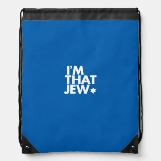 I'm That Jew Drawstring Backpack