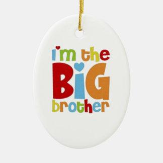 IM THE BIG BROTHER CERAMIC ORNAMENT