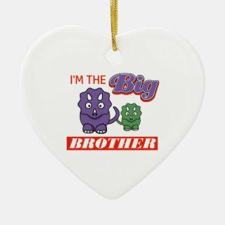 I'm the Big Brother designs Ceramic Ornament