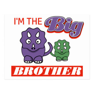 I'm the Big Brother designs Postcard