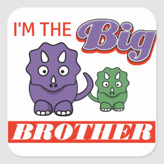 I'm the Big Brother designs Square Sticker