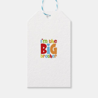 IM THE BIG BROTHER GIFT TAGS