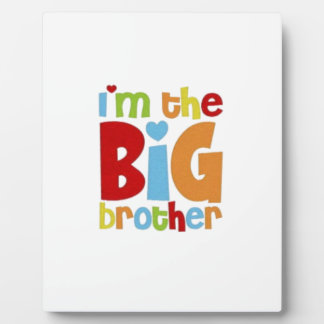 IM THE BIG BROTHER PLAQUE