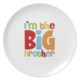 IM THE BIG BROTHER PLATE
