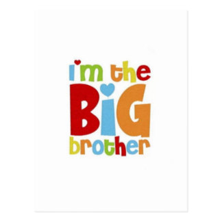 IM THE BIG BROTHER POSTCARD